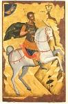 Άγιος Ευστάθιος - άγνωστος Κρητικός ζωγράφος, αρχές 16ου αιώνα μ.Χ.