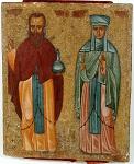 Όσιοι Ανδρόνικος και Αθανασία η συμβία του (16ος αιώνας μ.Χ.)
