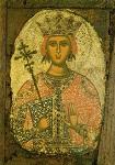 Αγία Αικατερίνη  - τέλος 15ου - αρχές 16ου αι. μ.Χ. - Mονή Σίμωνος Πέτρας, Άγιον Όρος