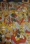 Η βρεφοκτονία του Ηρώδη (λεπτομέρεια) - Ιερά Μονή Ξηροποτάμου, Τοιχογραφία Καθολικού