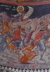 Η βρεφοκτονία του Ηρώδη (τμήμα) - Ιερά Μονή Μεγίστης Λαύρας, Τοιχογραφία Καθολικού