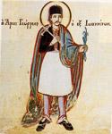 Τοιχογραφία του καθολικού της μονής Αγ. Τριάδας Παλιοχωρίου Λάιστας