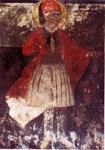 Τοιχογραφία του καθολικού της Μονής Αγ. Γεωργίου Κρανιάς, ανάμεσα από το Θεσπρωτικό και την Κρανιά