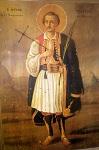 Άγιος Γεώργιος ο Νέος εξ Ιωαννίνων - Ιερός Ναός Αγίου Γεωργίου και Αγίου Δημητρίου Παλαιοχώρας Αίγινας