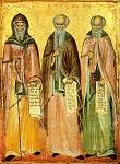 Άγιοι Aντώνιος, Eυθύμιος και Σάββας ο Ηγιασμένος - 1766 μ.Χ. - Nέα Σκήτη, Άγιον Όρος