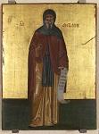 Άγιος Αντώνιος ο Μέγας - άγνωστος ζωγράφος κρητικού εργαστηρίου, τέλη 16ου - αρχές 17ου αιώνα μ.Χ.