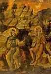 Άγιος Aντώνιος και Άγιος Παύλος ο Θηβαίος - β'μισό του 17ου αι. μ.Χ. - Mονή Ξηροποτάμου, Άγιον Όρος