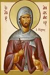 Άγιος Αναστάσιος ο Πέρσης ο Οσιομάρτυρας - Julia Hayes© (www.ikonographics.net)