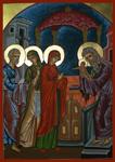 Η Υπαπαντή του Κυρίου - Λυδία Γουριώτη© (http://lydiagourioti-iconography.blogspot.com)