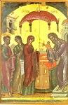Η Υπαπαντή του Κυρίου - 1546 μ.Χ. - Mονή Σταυρονικήτα, Άγιον Όρος (Κρητική σχολή, Θεοφάνης ο Kρής)