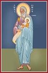 Δίκαιος Συμεών ο Θεοδόχος - Καζακίδου Μαρία© (byzantineartkazakidou. blogspot.com)