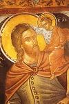 Άγιος Χριστόφορος ο Μεγαλομάρτυρας - Τοιχογραφία του καθολικού της Ιεράς Μονής Αγίου Νικολάου Αναπαυσά