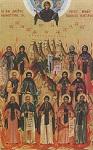 Άγιοι Ιωάννης, Κόνων,  Ιερεμίας, Μάρκος, Κύριλλος, Θεόκτιστος, Βαρνάβας, Μάξιμος, Θεόγνωστος,  Ιωσήφ,  Γεννάδιος, Γεράσιμος και Γερμανός οι Οσιομάρτυρες και Ομολογητές της Μονής Καντάρας Κύπρου