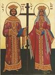 Άγιοι Κωνσταντίνος και Ελένη οι Ισαπόστολοι - Δια χειρός Γ. Δεσύπρη