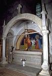 Ο τάφος του Αγίου Στεφάνου της Μολδαβίας στην Μονή Πούτνα