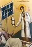 Όσιος Ιωάννης ο Ρώσος - Η Ίασις του καρκινοπαθούς Ιατρού