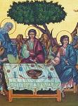 Η φιλοξενία του Αβραάμ - Δια χειρός: Μαριγούλας Νώε