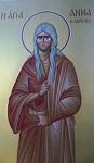 Οσία Άννα και Ιωάννης ο γιος της