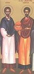 Εύρεση των Τιμίων Λειψάνων των Αγίων Αναργύρων Κύρου και Ιωάννου