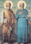 Όσιοι Απόστολος και Θεοχάρης οι αυτάδελφοι