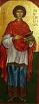 Άγιος Παντελεήμων ο Μεγαλομάρτυς και Ιαματικός - Λυδία Γουριώτη© (lydiagourioti-iconography.blogspot.gr)