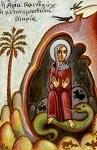 Αγία Γολινδούχ η Περσίδα που μετονομάστηκε Μαρία
