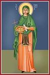 Αγία Παρασκευή η Οσιομάρτυς - Καζακίδου Μαρία© (byzantineartkazakidou. blogspot.com)