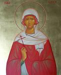 Αγία Ελέσα Οσιομάρτυς που μαρτύρησε στα Κύθηρα
