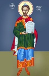 Προφήτης Μωυσής ο Θεόπτης - Καζακίδου Μαρία© (byzantineartkazakidou. blogspot.com)
