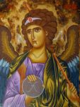 Αρχάγγελος Γαβριήλ - Λυδία Γουριώτη© (lydiagourioti-iconography.blogspot.com)