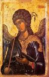Αρχάγγελος Γαβριήλ - γ' τέταρτο 14ου αι. μ.Χ. - Mονή Xιλανδαρίου, Άγιον Όρος
