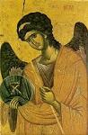 Αρχάγγελος Γαβριήλ - γ' τέταρτο 14ου αι. μ.Χ. - Mονή Bατοπαιδίου, Άγιον Όρος