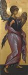 Αρχάγγελος Γαβριήλ - Εικόνα από το Aγιογραφείο της Μονής Βατοπαιδίου