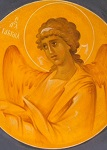Αρχάγγελος Γαβριήλ - Ι. Ν. Οσίων Παρθενίου και Ευμενίου των εν Κουδουμά, δια χειρός Παναγιώτη Μόσχου (2006 μ.Χ.)