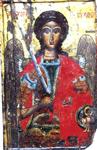 Εικόνα του Αρχάγγελου Μιχαήλ στο Παλαιοχώρι Χαλκιδικής