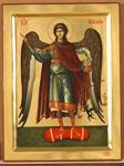 Αρχάγγελος Μιχαήλ - Εικόνα από το Aγιογραφείο της Μονής Βατοπαιδίου