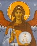 Αρχάγγελος Μιχαήλ - Ι. Ν. Οσίων Παρθενίου και Ευμενίου των εν Κουδουμά, δια χειρός Παναγιώτη Μόσχου (2006 μ.Χ.)
