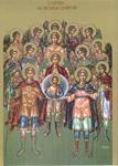 Σύναξις των Αρχαγγέλων Μιχαήλ και Γαβριήλ και των λοιπών Ασωμάτων και Ουράνιων Αγγελικών Ταγμάτων