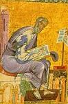 Άγιος Ματθαίος Απόστολος και Ευαγγελιστής (Tετραευάγγελο) - 13ος αι. μ.Χ. - Mονή Διονυσίου, Άγιον Όρος