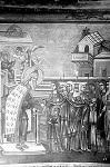 Τοιχογραφία από το Καθολικό της Ιεράς Μονής Χιλιανδαρίου (Φωτογραφία του 1918 μ.Χ. - Le Baron)