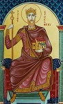Άγιος Ethelbert βασιλιάς της Αγγλίας