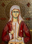Αγία Ακυλίνα - Δια χειρός Νικ. Ζέκιου - zekiosicons.gr