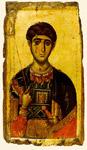 Άγιος Δημήτριος ο Μυροβλύτης - γύρω στα 1300 μ.Χ. - Μονή Βατοπαιδίου, Άγιον Όρος