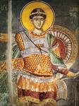 Άγιος Δημήτριος ο Μυροβλύτης - Μανουήλ Πανσέληνος, Πρωτάτο, περίπου 1290 μ.Χ.