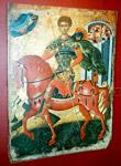 Άγιος Δημήτριος ο Μυροβλύτης - Μουσείο Αντιβουνιώτισσα, Κέρκυρα, 17ος αι.