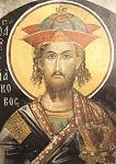 Άγιος Ιάκωβος ο Πέρσης ο Μεγαλομάρτυρας - Τοιχογραφία του καθολικού της Ιεράς Μονής Αγίου Νικολάου Αναπαυσά