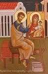 Άγιος Λουκάς ο Ευαγγελιστής - Λυδία Γουριώτη© (http://lydiagourioti-iconography.blogspot.com)