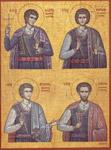 Άγιοι Νεομάρτυρες Αγγελής, Μανουήλ, Γεώργιος και Νικόλαος «ἐκ Μελάμπων Κρήτης»