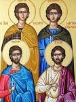 Οι Άγιοι Αγγελής, Μανουήλ, Γεώργιος και Νικόλαος