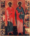 Άγιοι Κοσμάς και Δαμιανός οι Ανάργυροι και θαυματουργοί